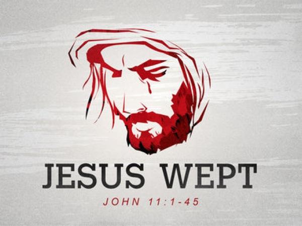 Dieu pleure avec nous (Jn 11, 32-44)